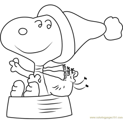 Soppy Free Coloring Page for Kids