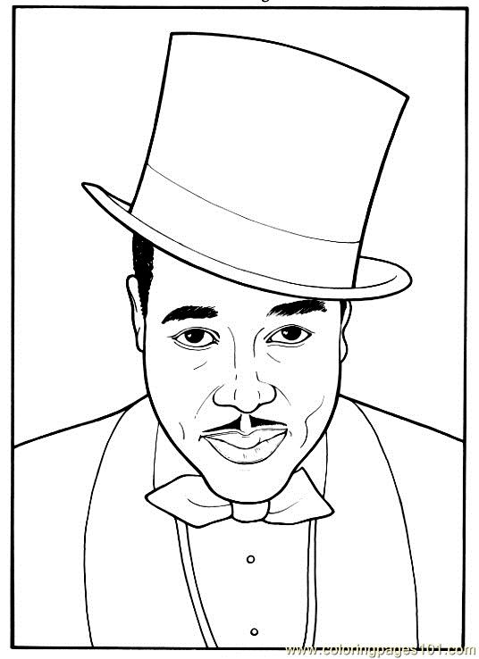 Black history month free printable coloring sheets | 738x536