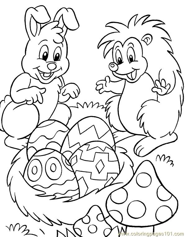 Easter 12 Coloring Page Free Holidays Coloring Pages