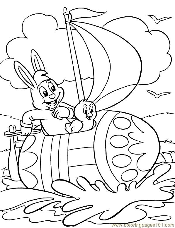 Easter (20) Coloring Page
