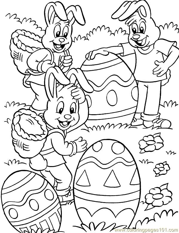 Easter (21) Coloring Page