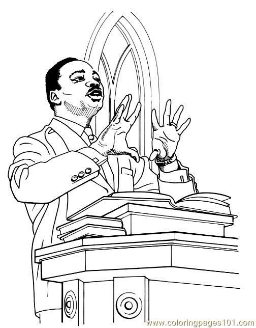 Mking Coloring Page