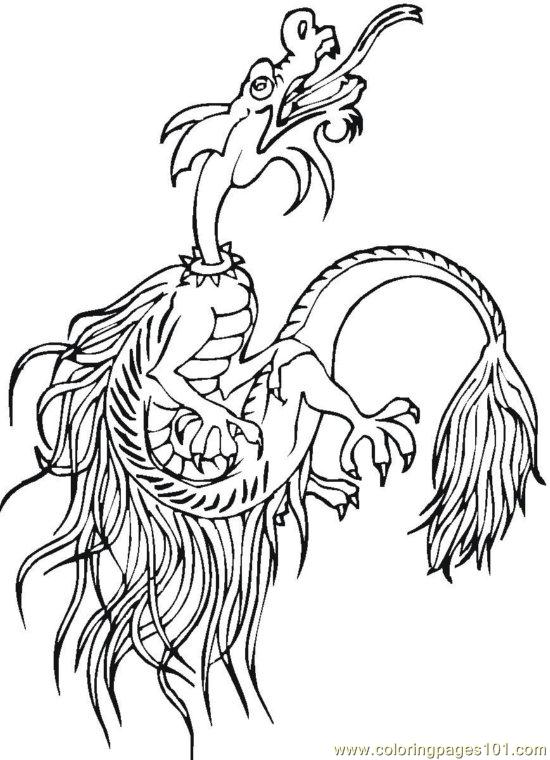Chinese (7) Coloring Page