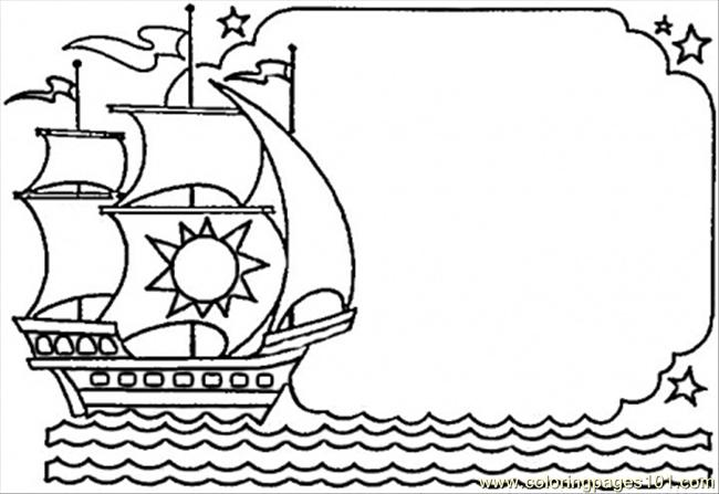 Columbus Dispatch Coloring Page