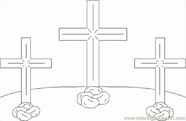 Crosses1 Coloring Page