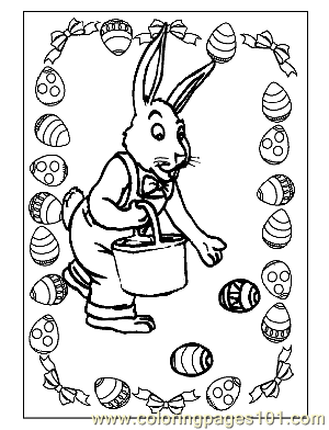 Easter 6 Coloring Page