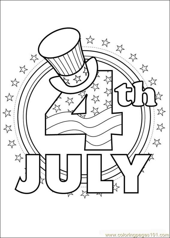 Fourthofjuly 08 Coloring Page