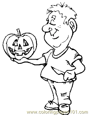 Halloween 66 Coloring Page