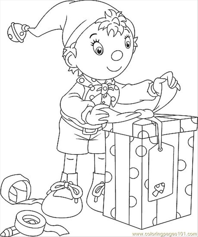 Holiday Coloring Page.preview Coloring Page