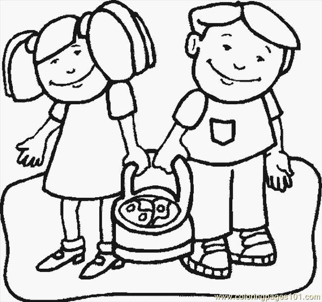 Kidsr Coloring Page