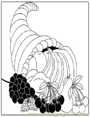 Thanksgiving 43 Coloring Page