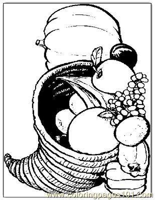 Thanksgiving 47 Coloring Page