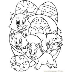001 Easter 80 coloring page