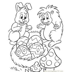 001 Easter 82 coloring page