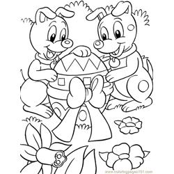 001 Easter 84 coloring page