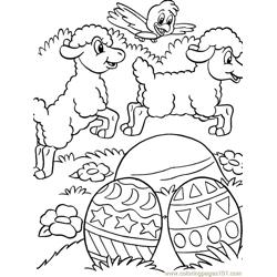 001 Easter 85 coloring page