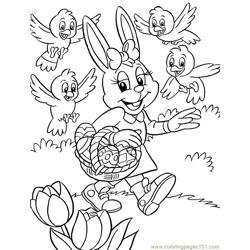 001 Easter 86 coloring page
