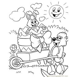 001 Easter 88 coloring page