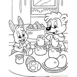 001 Easter 89 coloring page