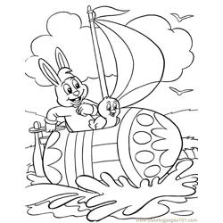 001 Easter 90 coloring page