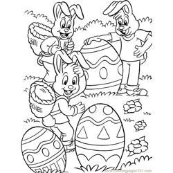 001 Easter 91 coloring page