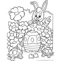 001 Easter 92 coloring page