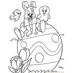 001 Easter 94 coloring page