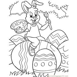 001 Easter 96 coloring page