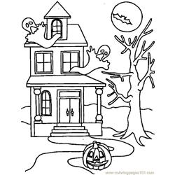 001 Halloween 13 coloring page