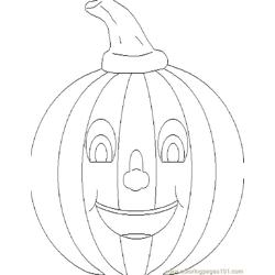 001 Halloween 16 coloring page