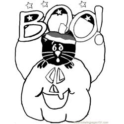 001 Halloween 18 coloring page