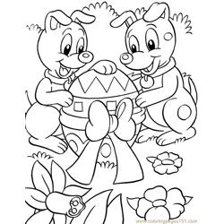 Easter (14) Free Coloring Page for Kids