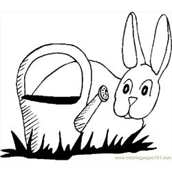 Bunny & Watering Can