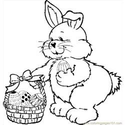 Bunny With Basket 01