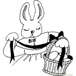 Bunny With Basket 13