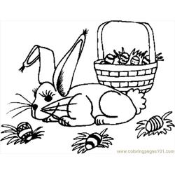 Bunny With Basket 14