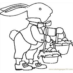 Bunny With Baskets