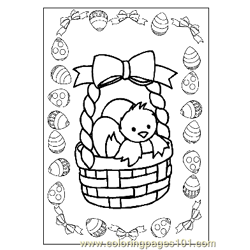 Easter 8 coloring page