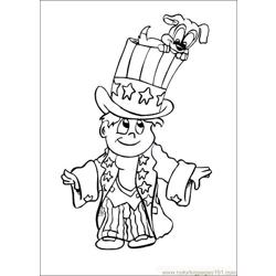 Fourthofjuly 01 coloring page