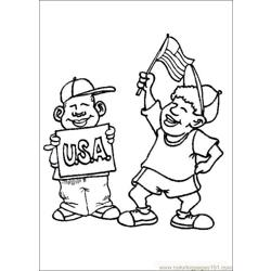 Fourthofjuly 03 coloring page