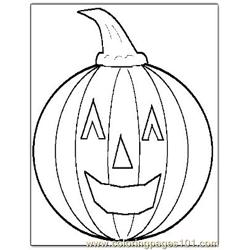 Halloween 31 coloring page