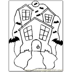 Halloween 51 Free Coloring Page for Kids