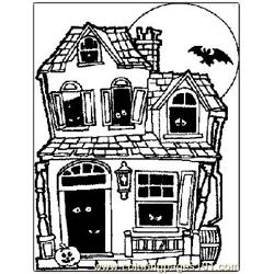 Halloween 53 Free Coloring Page for Kids