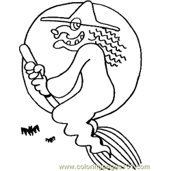 Halloween 59 Free Coloring Page for Kids