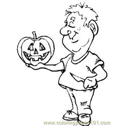 Halloween 66 Free Coloring Page for Kids