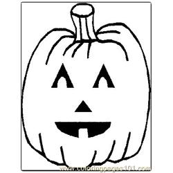 Halloween 79 Free Coloring Page for Kids