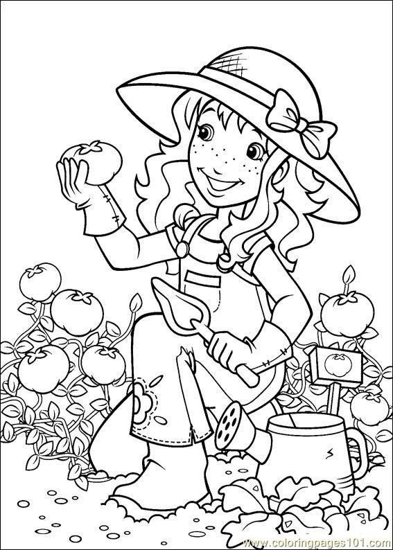 Holly Hobbie (12) Coloring Page
