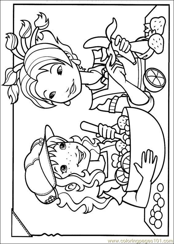 Holly Hobbie (34) Coloring Page