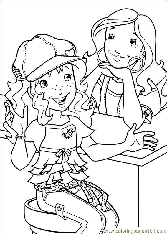 Holly Hobbie 05 Coloring Page