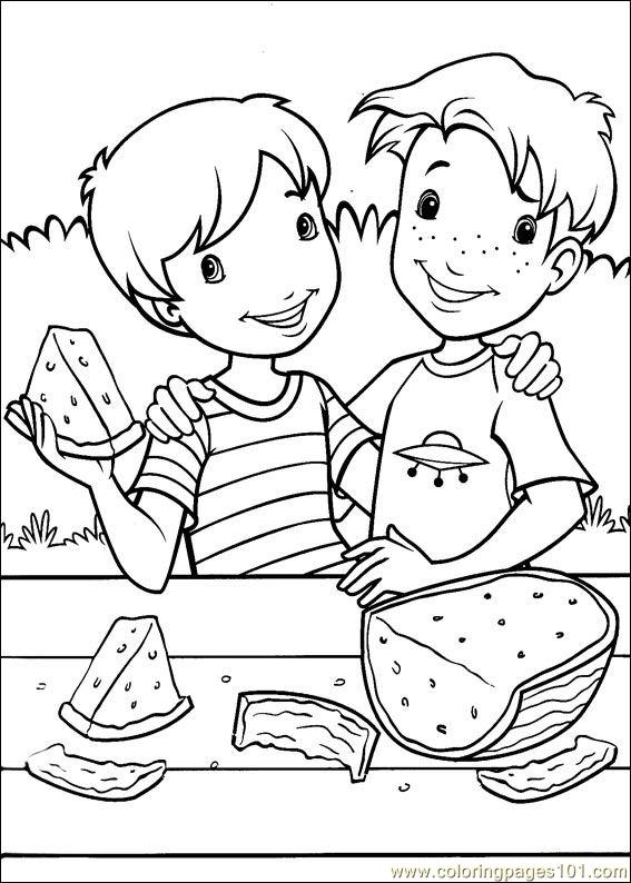 Holly Hobbie 09 Coloring Page
